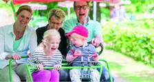 Family Bike at Center Parcs Bispinger Heide