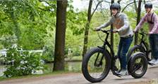 Kick Bike at Center Parcs Bispinger Heide