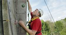 Wall climbing (Outdoor) at Center Parcs Bispinger Heide