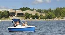 Electric Boats at Center Parcs Bispinger Heide