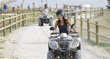 Quad ride at Center Parcs Bispinger Heide